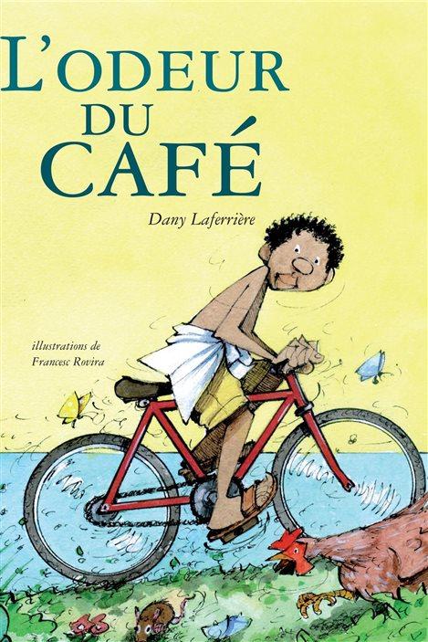 Détail de la couverture de «L'odeur du café» de Dany Laferrière.