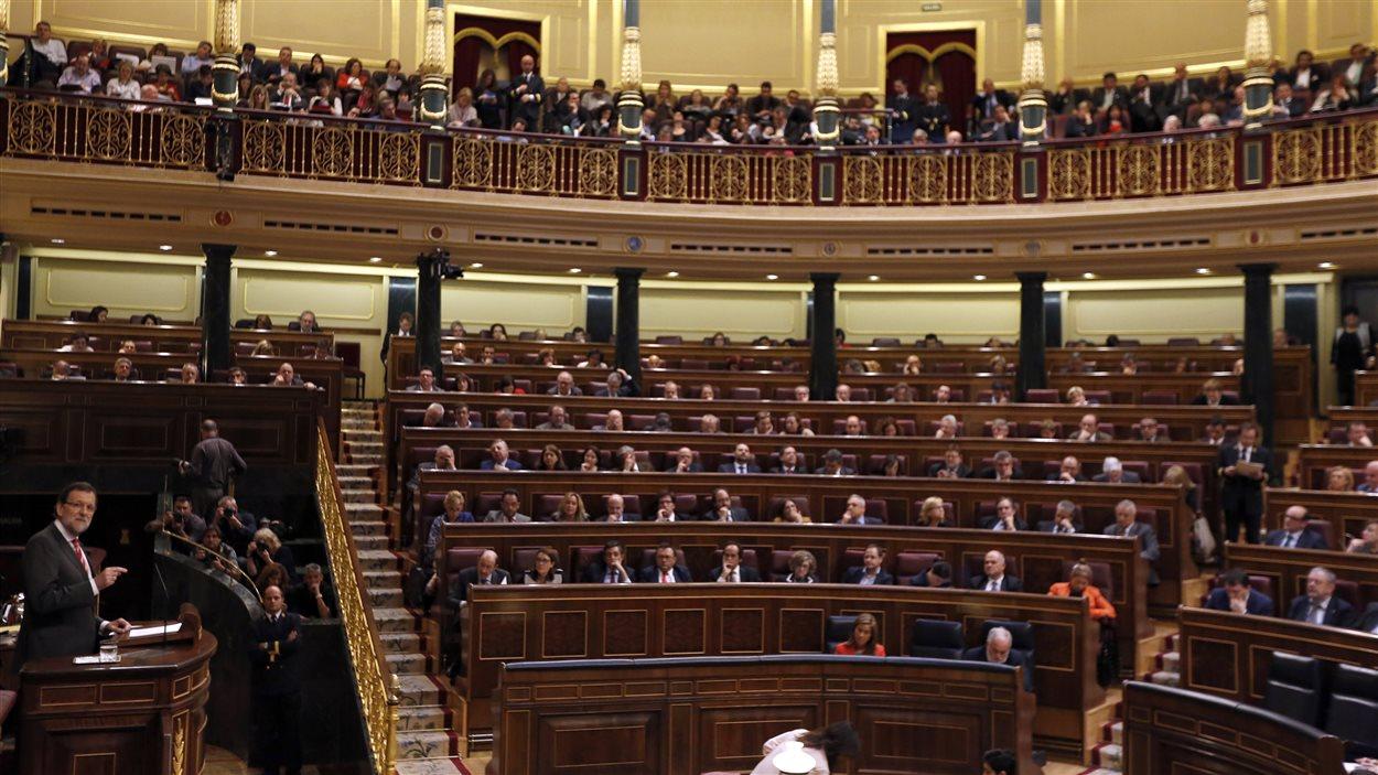 Le parlement espagnol a débattu de la question catalane pendant sept heures.