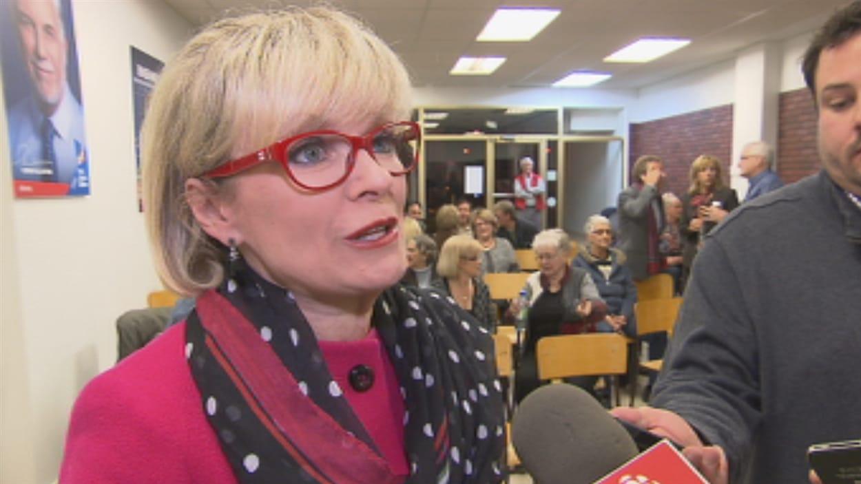 Julie Boulet réélue