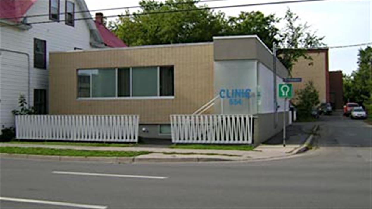 La clinique Morgentaler, à Fredericton, au N.-B.
