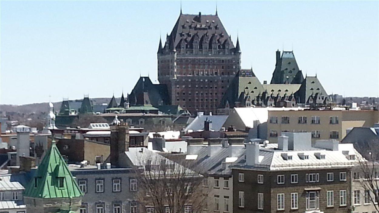 Ville de Québec, Château Frontenac