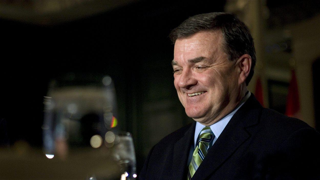 Le ministre Jim Flaherty en 2008
