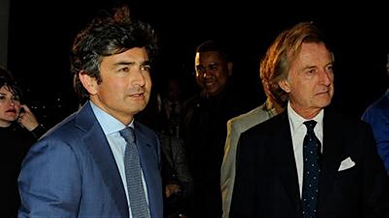 Marco Mattiacci et Luca di Montezemolo