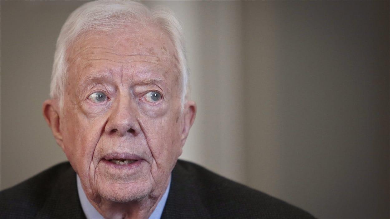 L'ancien président américain Jimmy Carter