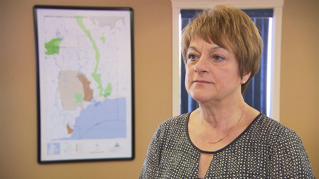 Violaine Doyle, la mairesse de Port-Cartier