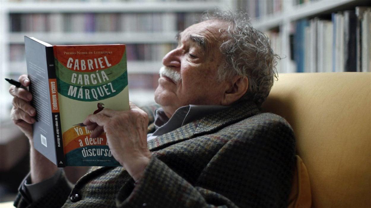 Gabriel Garcia Marquez, à sa résidence de Mexico en 2010.