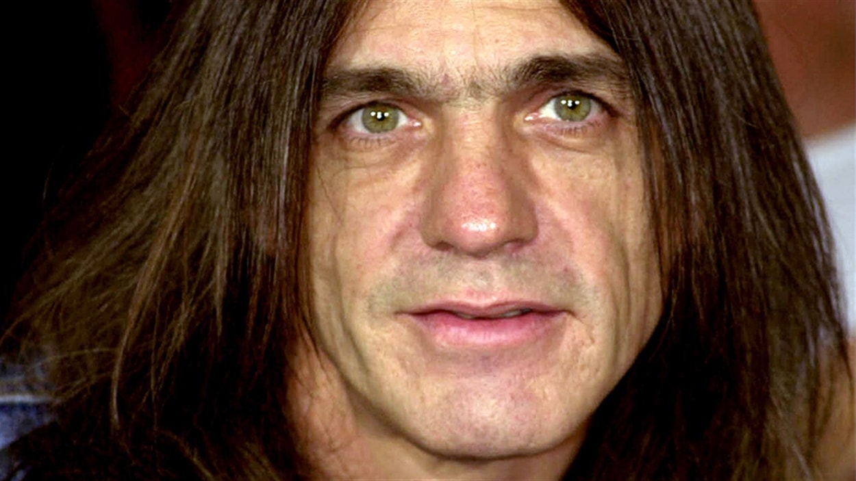 Malcolm Young d'AC/DC.