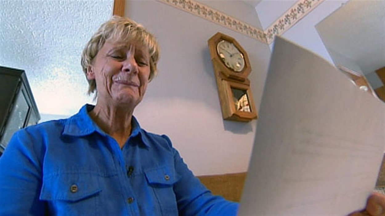 Sandy Nelson, 58 ans, a perdu son travail