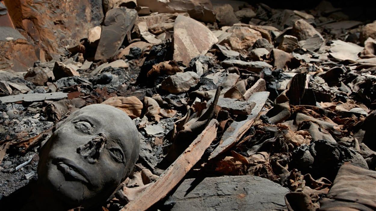 Un tombeau fouillé par les chercheurs suisses et égyptiens dans la Vallée des Rois