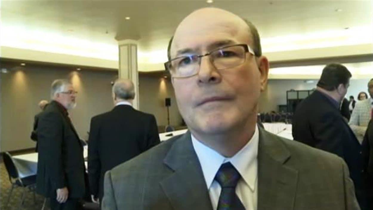 Rino Volpé, président-directeur général du Réseau de santé Vitalité
