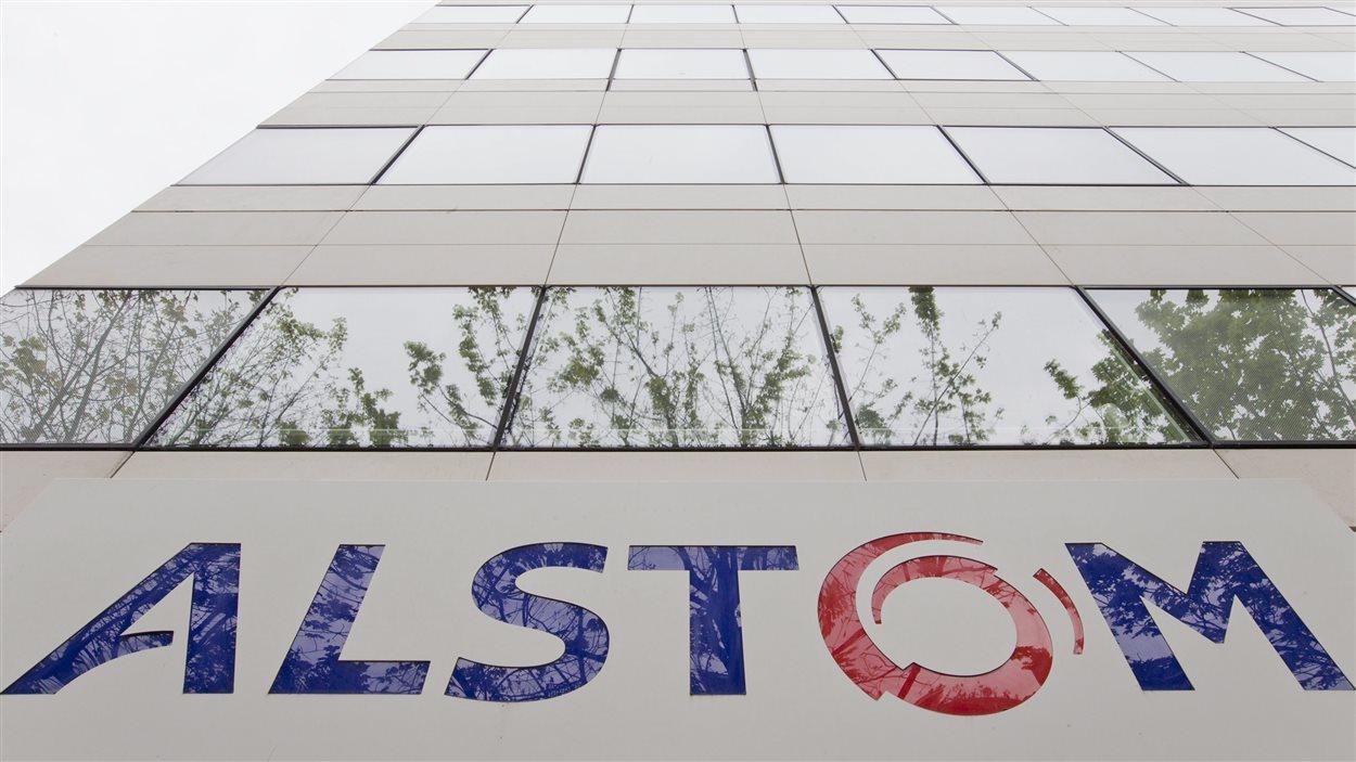 Le siège social d'Alstom à Paris