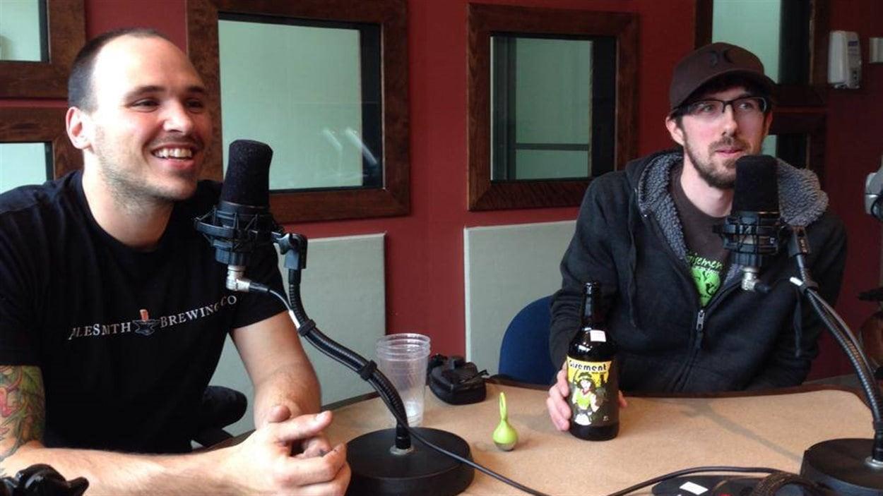 Nouvelle bière issue de la collaboration entre le Gisement et le Trèfle Noir