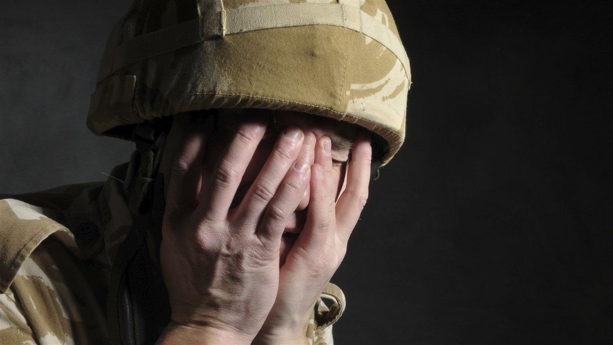 Au Canada, un militaire sur cinq revenu d'Afghanistan souffre d'un trouble de stress post traumatique.