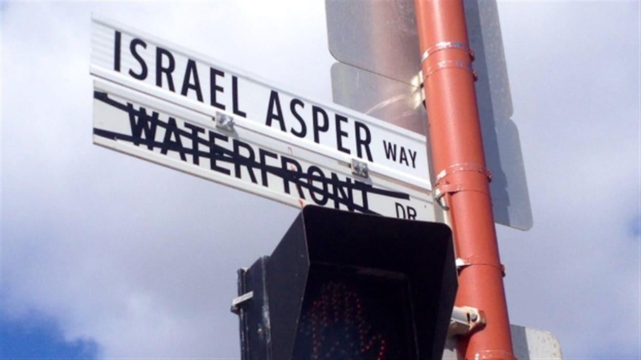 La Ville de Winnipeg a nommé l'entrée ouest du Musée canadien pour les droits de la personne en l'honneur d'Israel Asper.