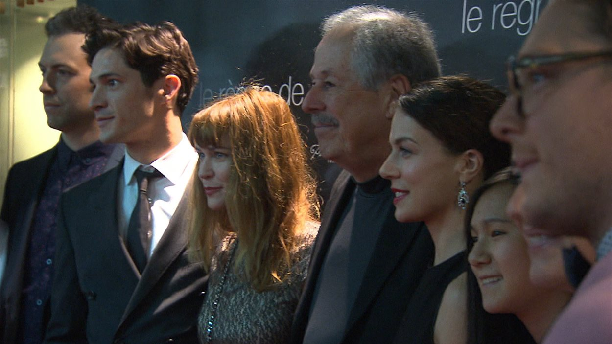 Le cinéaste Denys Arcand présentait lundi son plus récent film, Le règne de la beauté, à Montréal.