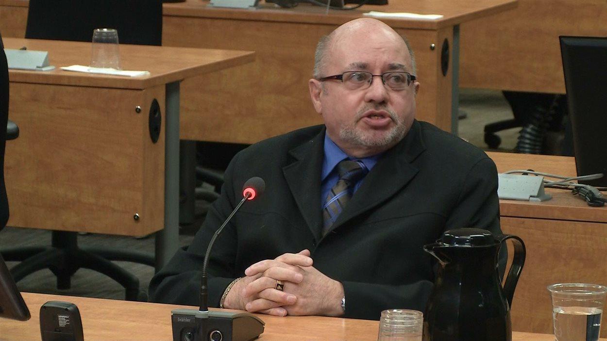Luc Bergeron, ancien directeur territorial au MTQ pour la Mauricie et la région de Québec