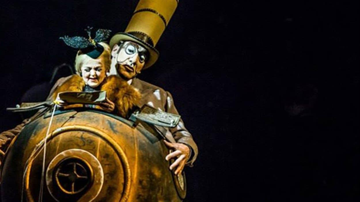 Le spectacle Kurios, du Cirque du Soleil