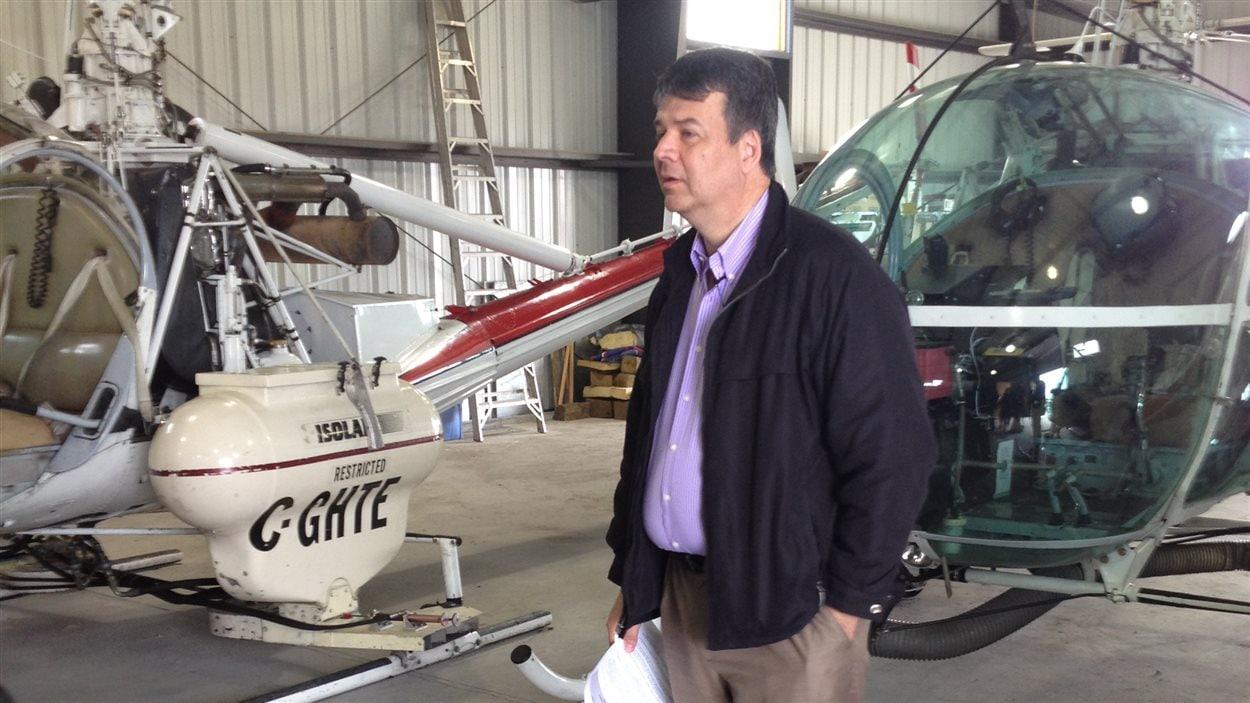 Le directeur de la lutte contre les insectes à la Ville de Winnipeg, Ken Nawolsky