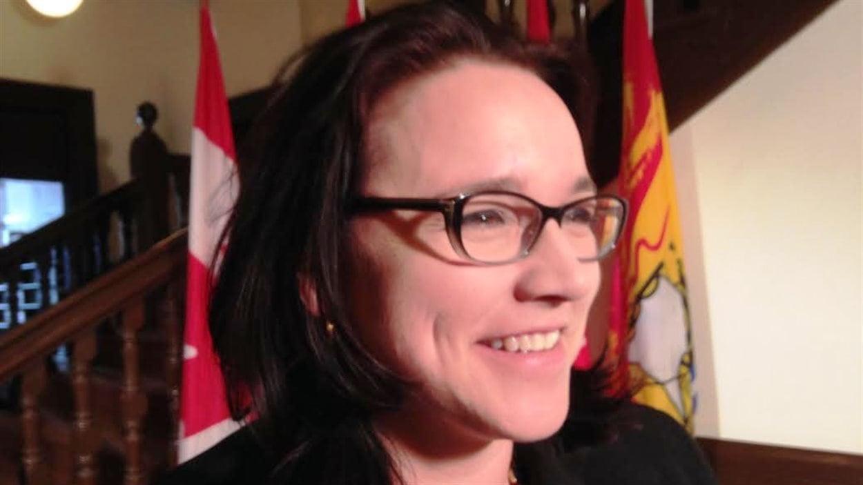 Marie-Claude Blais, ministre de l'Éducation du Nouveau-Brunswick