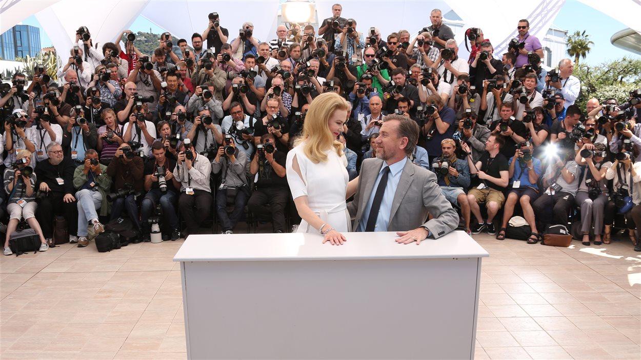 Nicole Kidman et Tim Roth au 67e Festival de Cannes