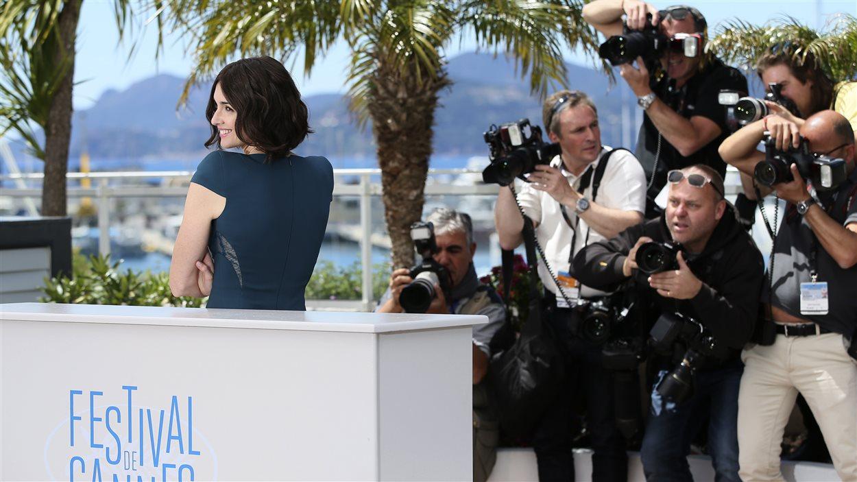 Jour 1 : Les photographes jouent du coude au 67e Festival de Cannes, le 14 mai 2014.