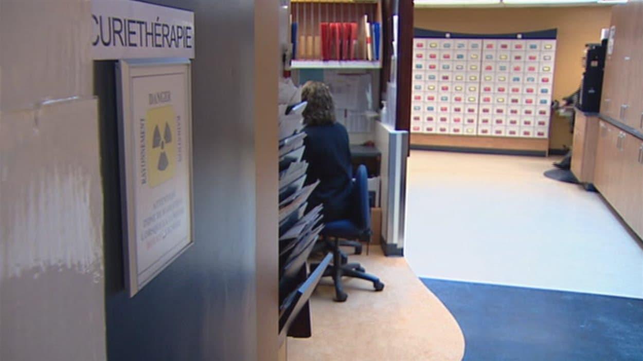 L'Hôtel-Dieu de Québec regroupe sur un même étage les services dédiés à la curiethérapie.