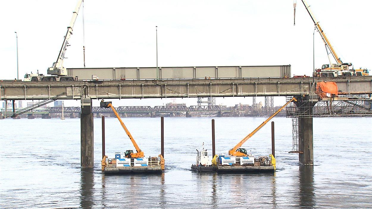 La super-poutre du pont Champlain