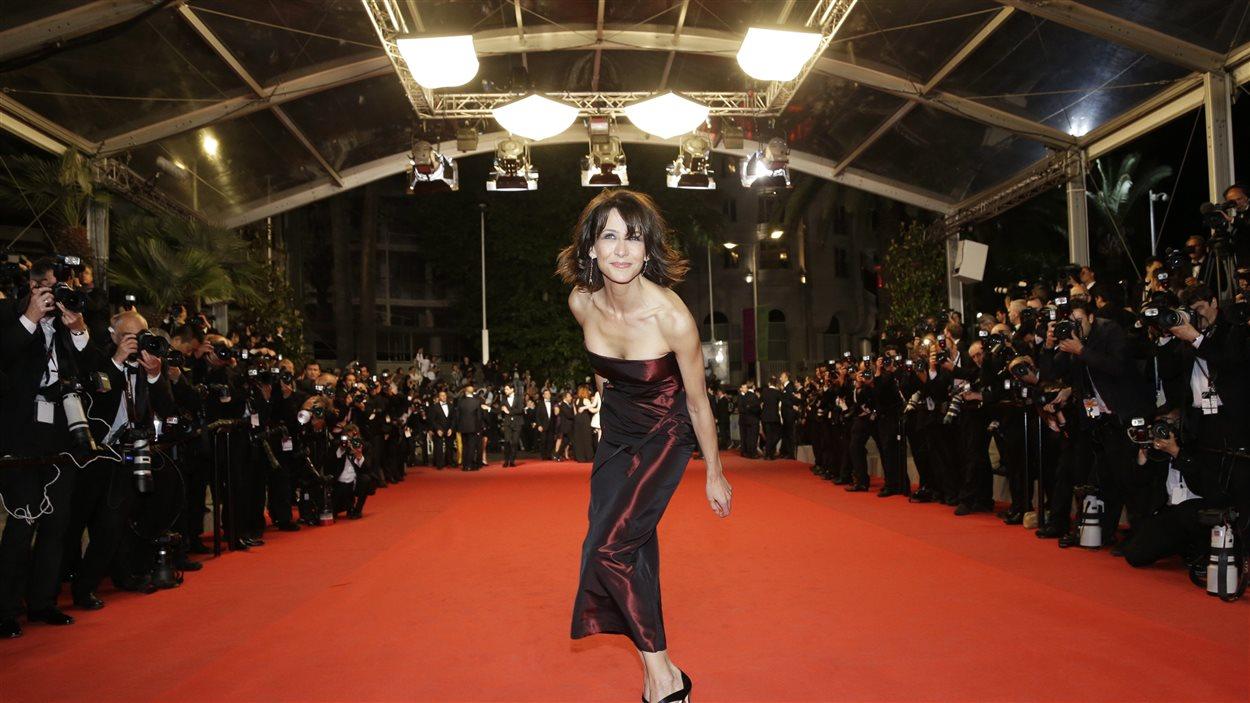 Jour 8 - Sophie Marceau sur le tapis rouge du film Coming home