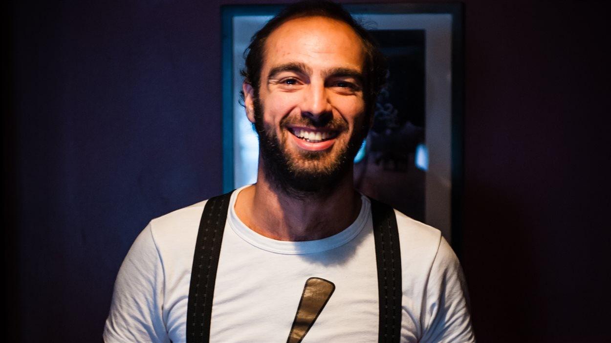 L'auteur Yannick Marcoux.