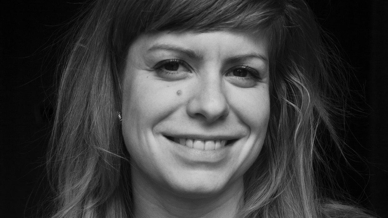 L'auteure Émilie Bélanger