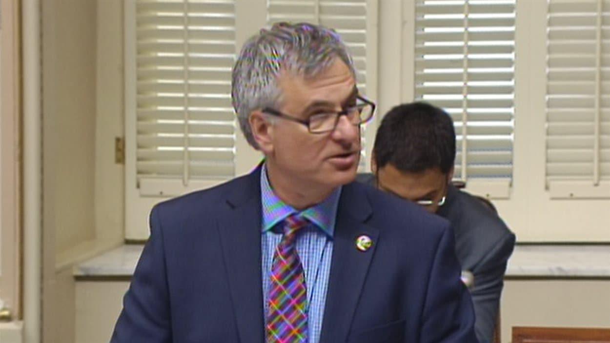Jean-Marc Fournier, leader parlementaire libéral à l'Assemblée nationale