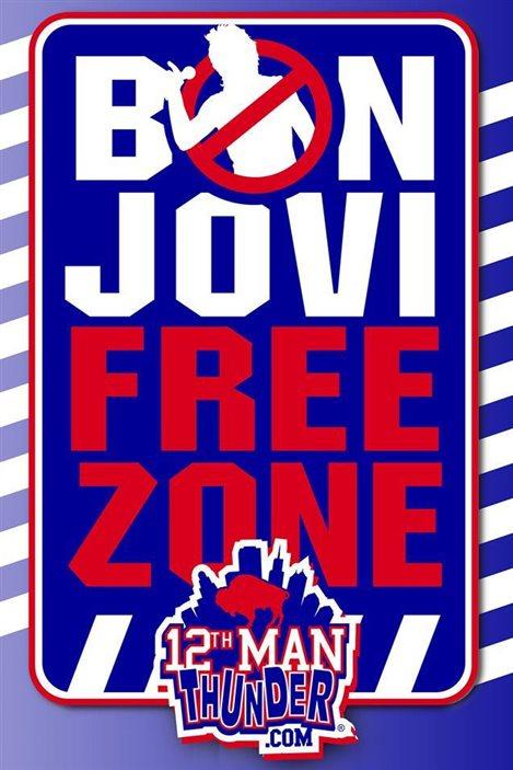 Image utilisée pour la campagne appelant au boycott de la musique de Bon Jovi à Buffalo.