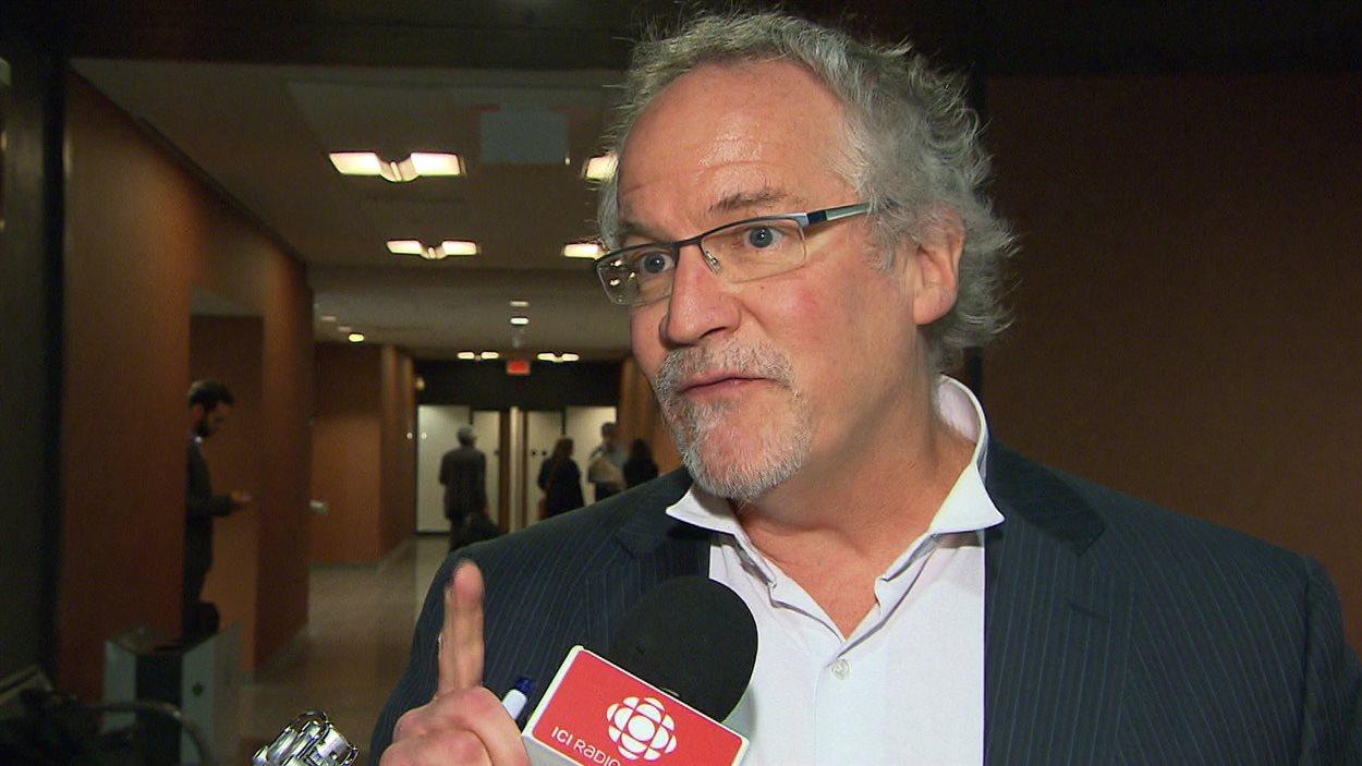 L'avocat Michel Bélanger