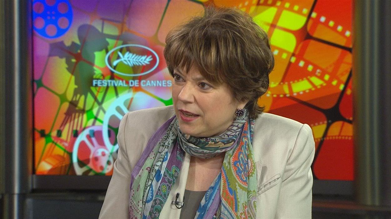 Hélène David, ministre de la Culture du Québec, en entrevue à RDI le 24 mai 2014