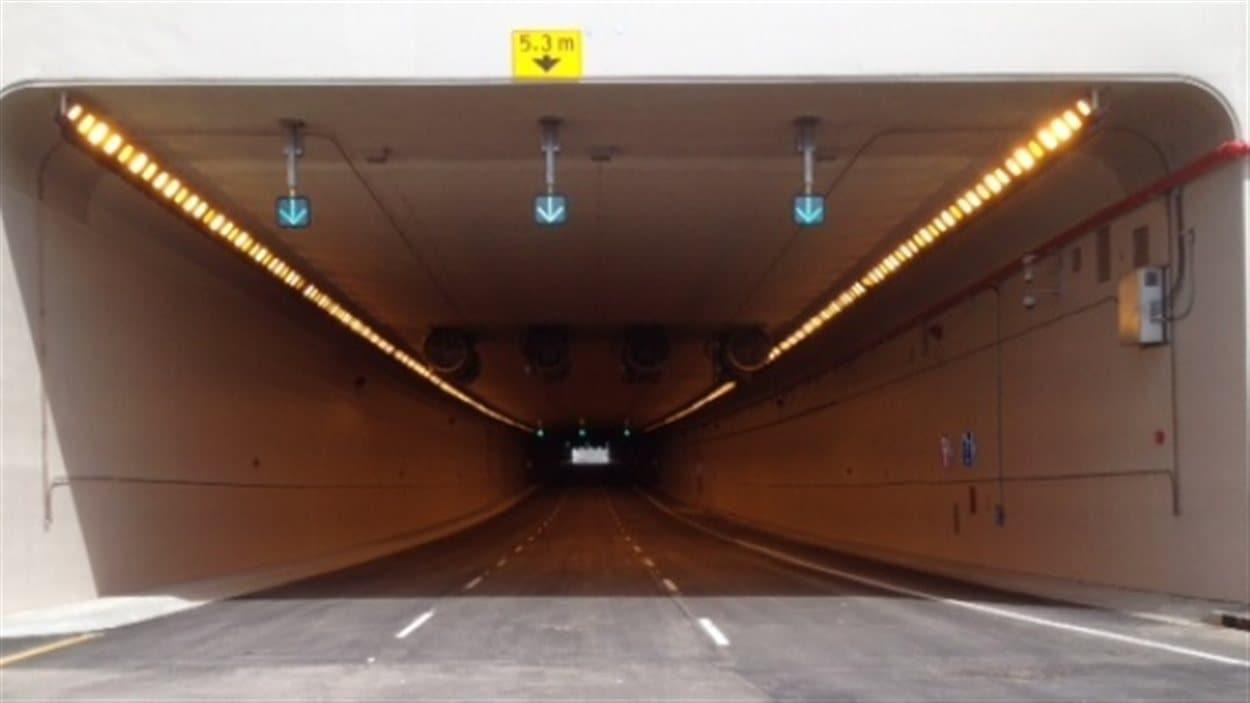 Le tunnel sous l'aéroport de Calgary
