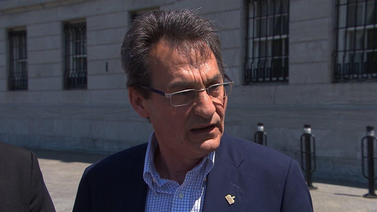 Richard Bergeron, chef de l'opposition officielle de la ville de Montréal
