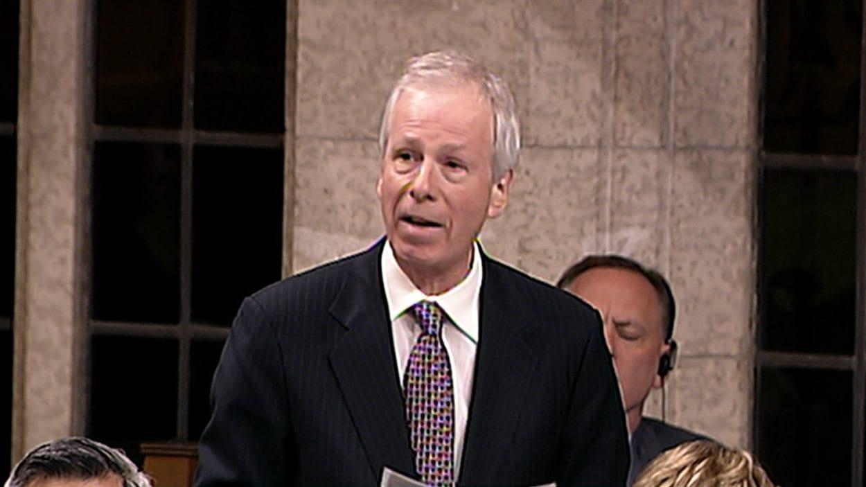 Le député libéral de Saint-Laurent-Cartierville, Stéphane Dion