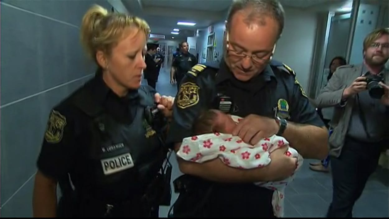 Le bébé qui avait été enlevé lundi en début de soirée à Trois-Rivières a été retrouvé vers 22h.
