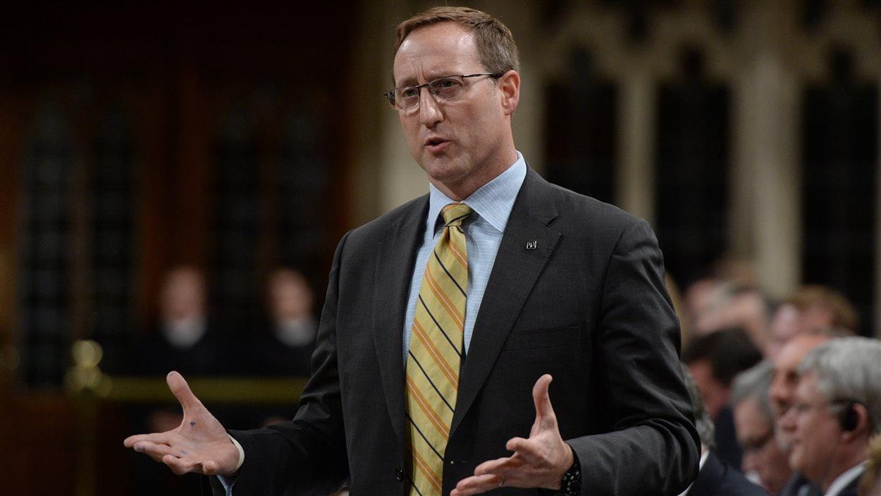Le ministre canadien de la Justice, Peter Mackay, le 26 mai, à Ottawa