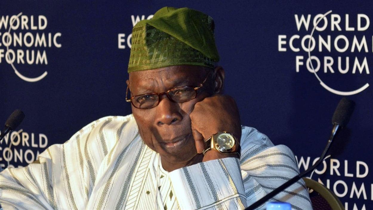 L'ancien président du Nigeria Olusegun Obasanjo