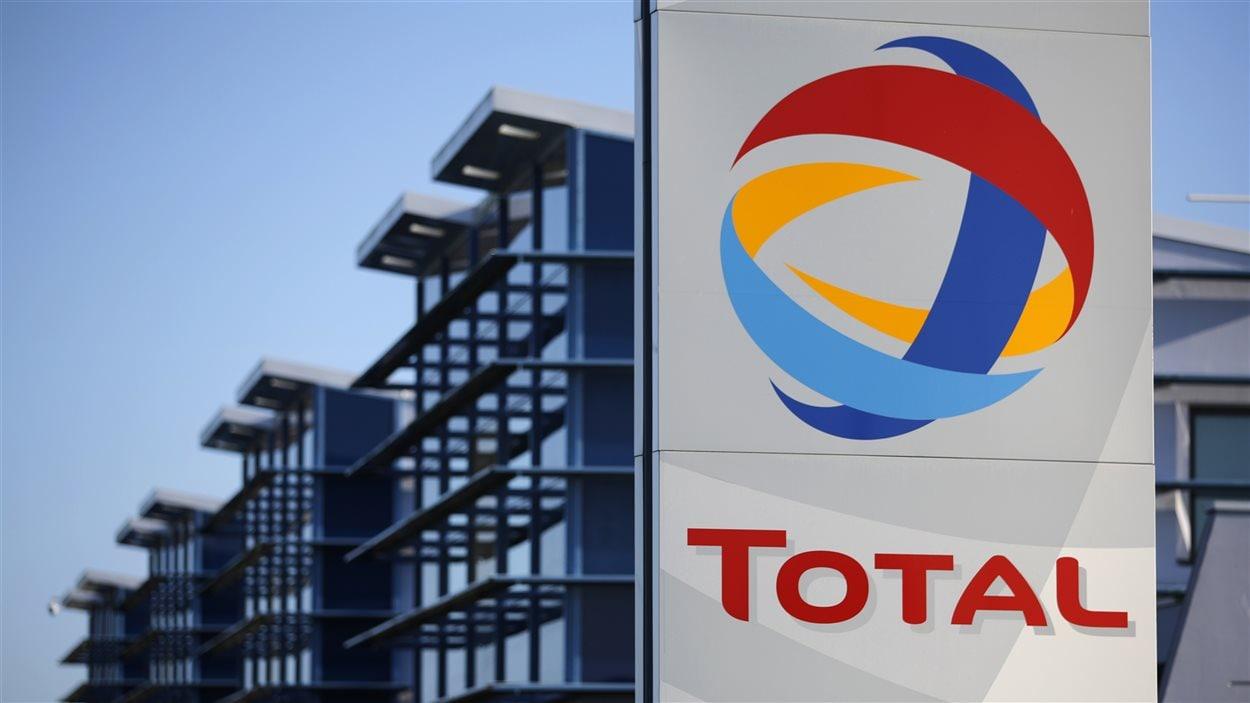 Logo de la compagnie Total