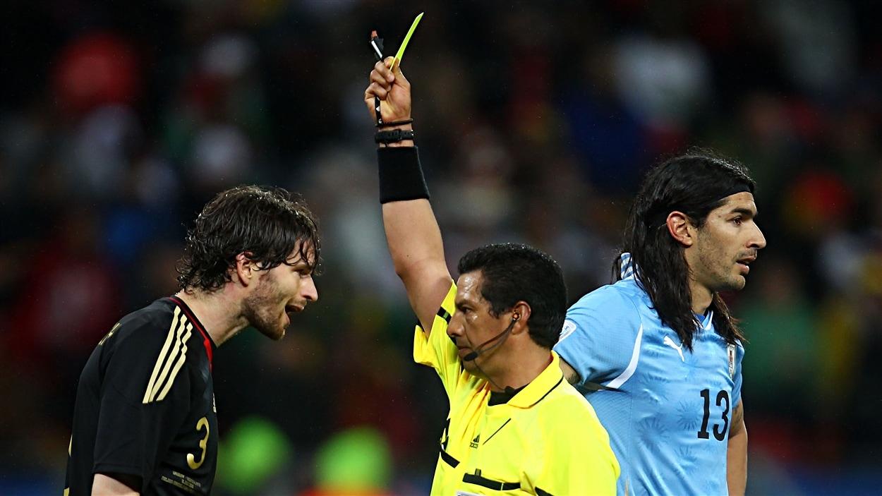 Un arbitre de la FIFA pendant la Coupe du monde 2010