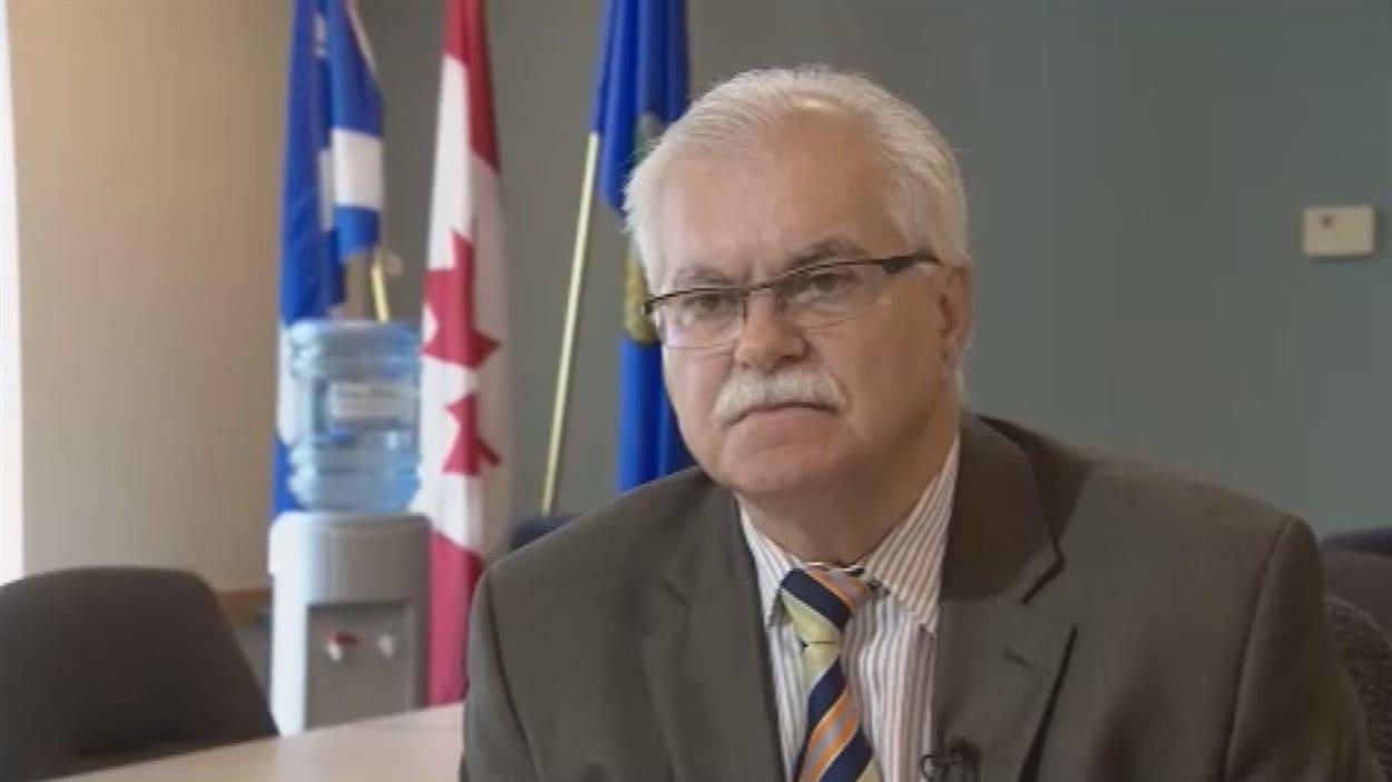Le directeur du Conseil scolaire Centre-Nord, Henri Lemire