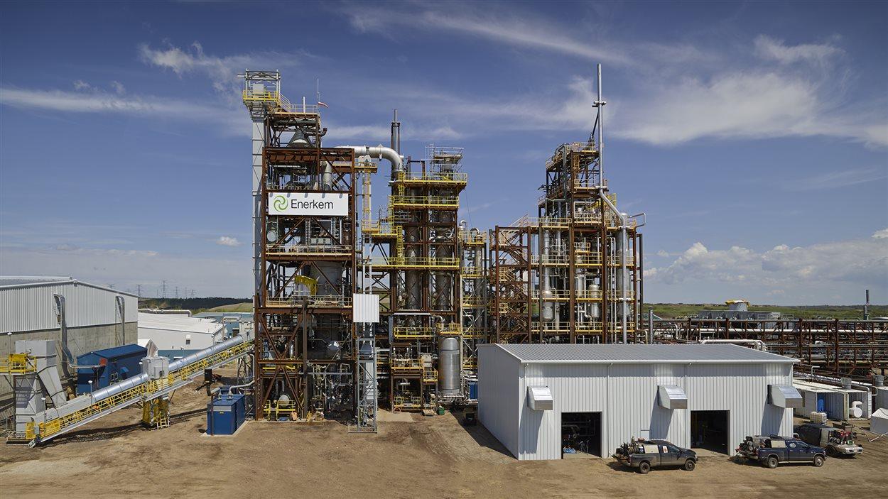 L'usine Enerkem d'Edmonton