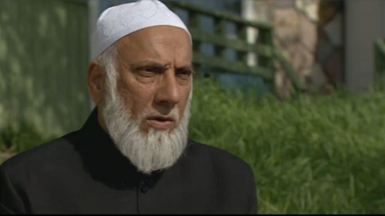 Le populaire imam de Calgary Syed Soharwardy accorde une entrevue à Radio-Canada en juin 2014.