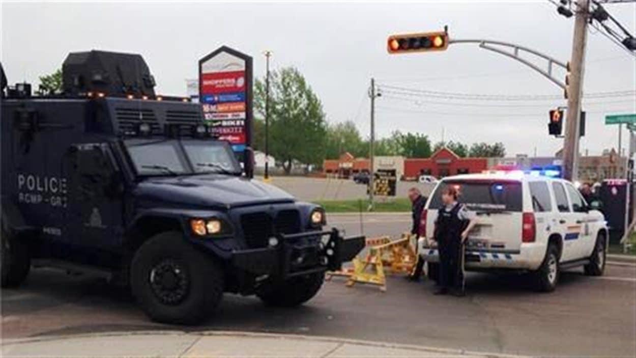 L'opération policière toujours en cours à Moncton