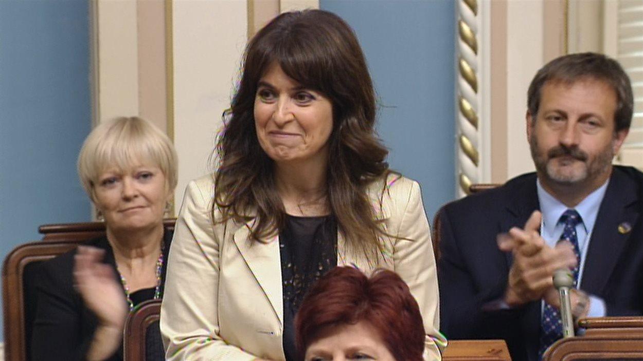 La députée péquiste Véronique Hivon