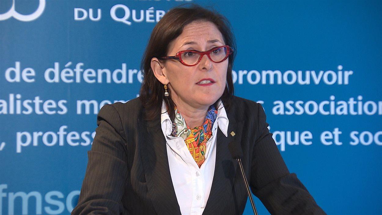 Diane Francoeur, présidente de la FMSQ