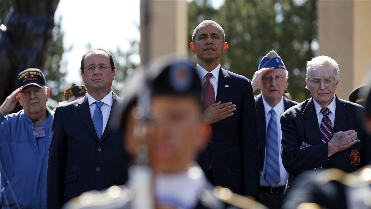 Le président français François Hollande et son homologue américain, Barack Obama