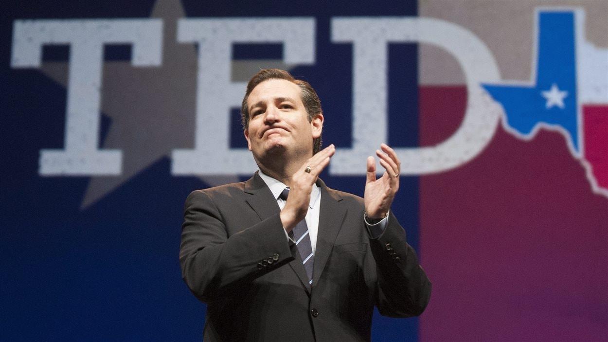 Le sénateur américain Ted Cruz